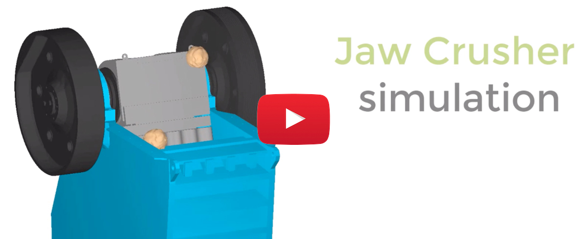 EDEM: Simulation and Analysis of Jaw Crusher Process