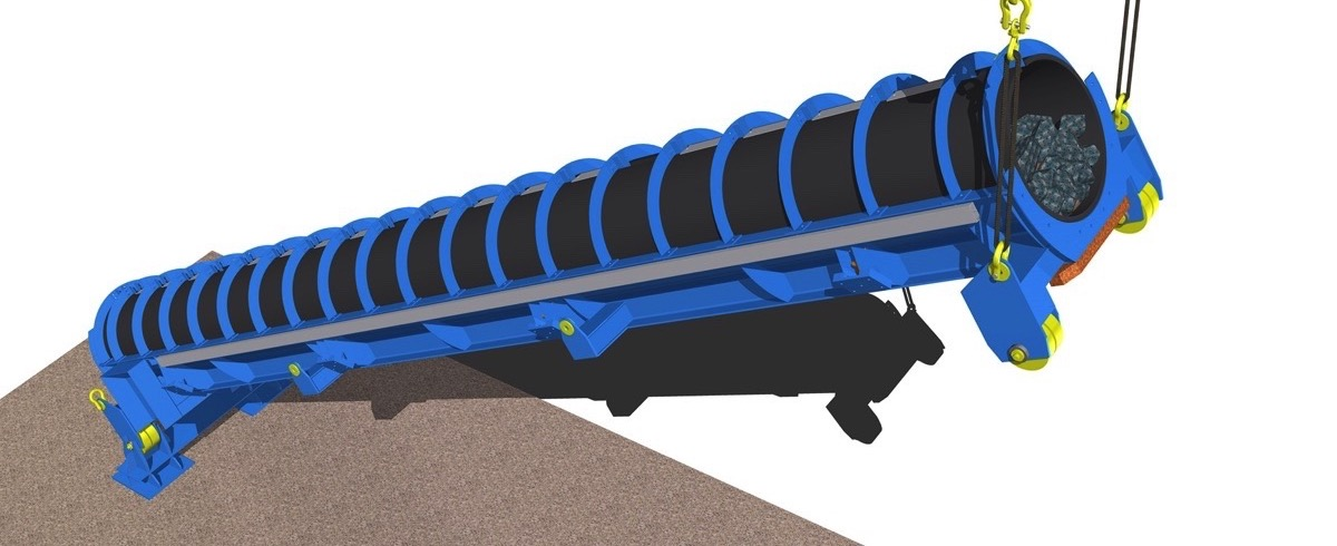 Pipe Conveying the next Stage: A new Technology for Steep Incline High Capacity Open Pit Conveying