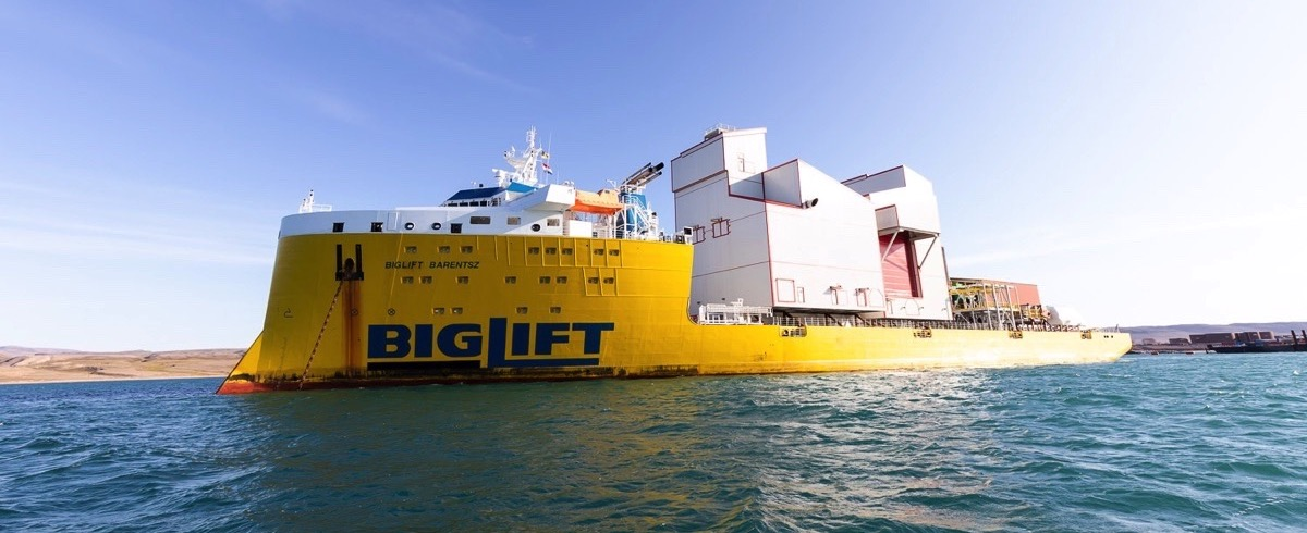 thyssenkrupp ships 5500 t Iron Ore Handling System to Baffin Island, Canada