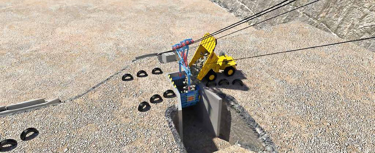 Tackling the Wall – The Skip Way System, a new Approach to Steep-Angle Conveying in Quarries and smaller Open-Pit Mines
