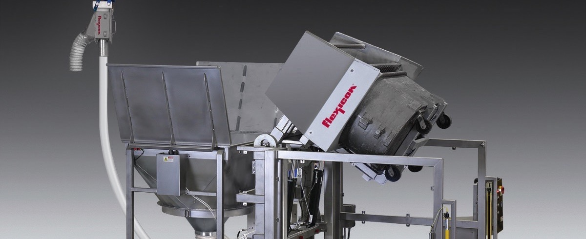Flexicon: High Capacity Tipper for mobile Bins