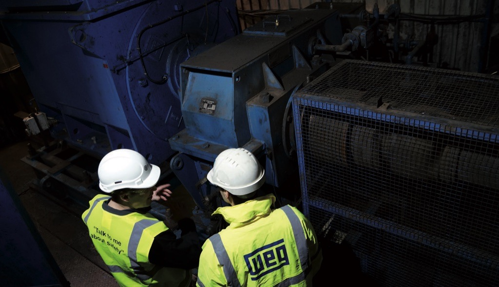Tough Shredder Application: Sims Metal Management selects 3 MW WEG Motor for Replacement – The relationship between WEG and Sims Group Ltd. goes back several years when the first motor was installed at the company's Newport site.