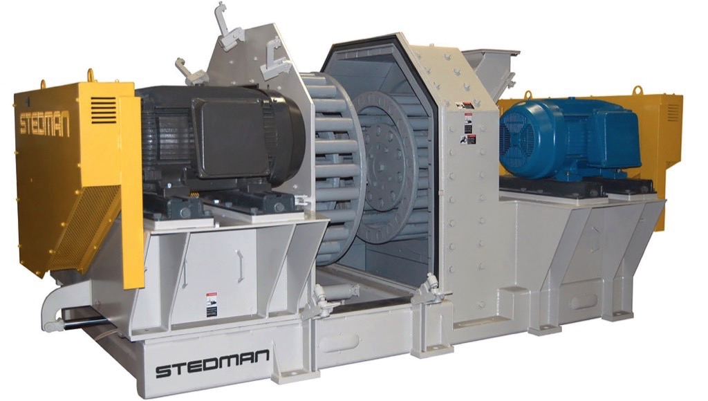 High Size Reduction Ratios Cage Mill Working Principles and Performance Factors – The cage mill can be applied to effectively crush, grind and pulverize a broad array of abrasive and non-abrasive materials, including wet sticky types. (Pictures: ©Stedman Machine Company)