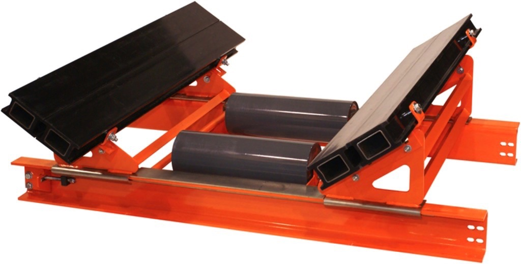 Martin Engineering: Reduce Conveyor Maintenance Time through better Access - Track-mounted designs allow components to slide in and out easily for maintenance.