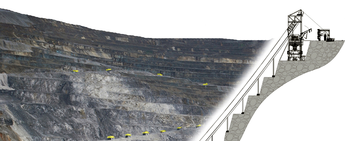 Skip-Conveying in Opencast Mines – An Approach to optimise Cost and Energy Efficiency in Hard Rock Mines